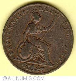 Halfpenny 1827