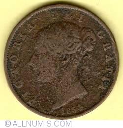 Halfpenny 1854