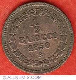 Image #2 of 1/2 Baiocco 1850 (V)
