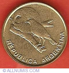 Image #1 of 1/2 Centavo 1985