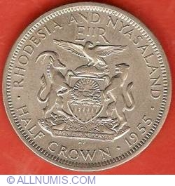 Image #2 of 1/2 Crown 1955