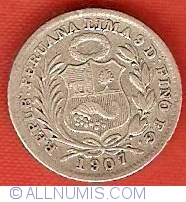 Image #1 of 1/2 Dinero 1907