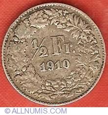 Image #2 of 1/2 Franc 1910