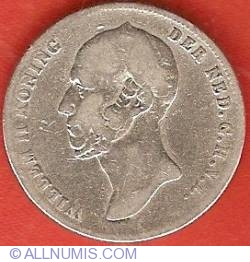 Image #1 of 1/2 Gulden (50 Cents) 1848
