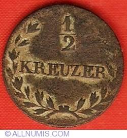 Image #2 of 1/2 Kreuzer 1826