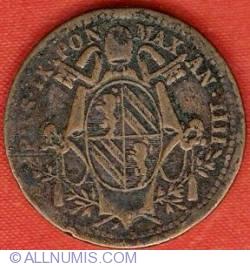 Image #1 of 1/2 (Mezzo) Baioccho 1849 (IIII)