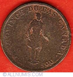 Image #1 of Half Penny 1837 - Bank Token - City Bank