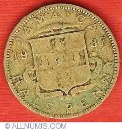 Image #2 of 1/2 Penny 1937