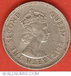 Image #1 of 1/2 Rupee 1971