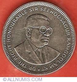 Image #1 of 1/2 Rupee 1990