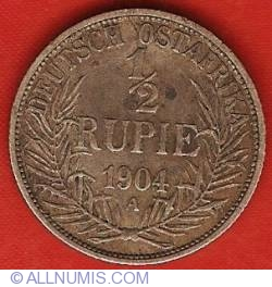 Image #1 of 1/2 Rupie 1904 A