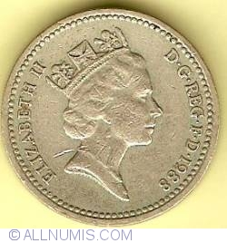 Image #2 of 1 Pound 1988