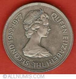 Image #1 of 25 Pence 1977 - Silver Jubilee