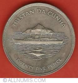 Image #2 of 25 Pence 1977 - Silver Jubilee