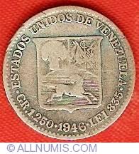 Imaginea #1 a 1/4 Bolivar 1946