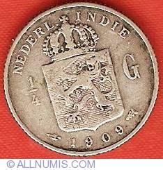 Image #1 of 1/4 Gulden 1909