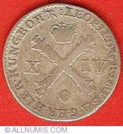 Image #1 of 14 Liards (14 Oorden) 1792 (b)