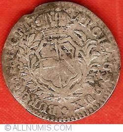 Image #2 of 10 Liards (10 Oorden) 1751 (h)