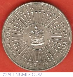 Image #2 of 5 Pounds 1993 - Aniversarea de 40 ani de la incoronarea Elizabetei a II-a