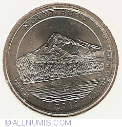 Image #2 of Quarter Dollar 2010 P - Oregon Mount Hood
