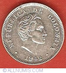 10 Centavos 1942 B