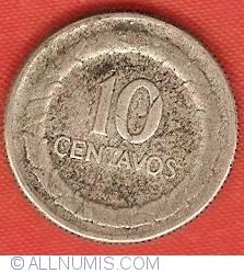 10 Centavos 1949 B