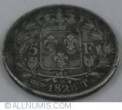Image #2 of 5 Francs 1828 T