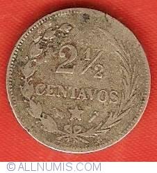 Imaginea #2 a 2-1/2 Centavos 1888