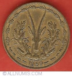 Image #2 of 10 Francs 1959