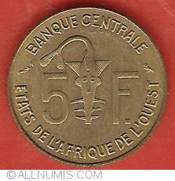 Image #1 of 5 Francs 1960