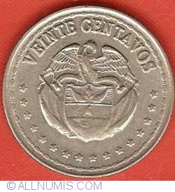 Image #2 of 20 Centavos 1964
