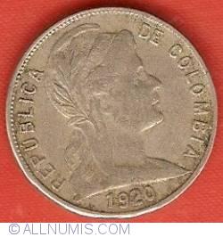 Imaginea #1 a 5 Centavos 1920