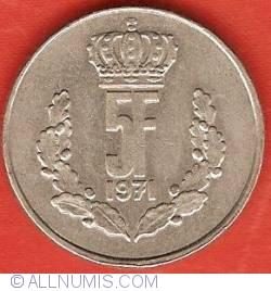 Image #2 of 5 Francs 1971