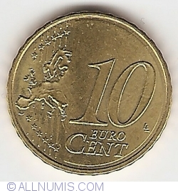 Image #1 of 10 Euro Cent 2015