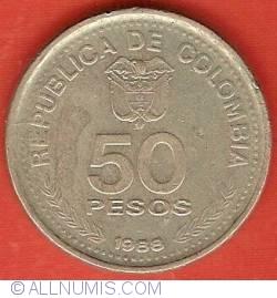 Image #2 of 50 Pesos 1988