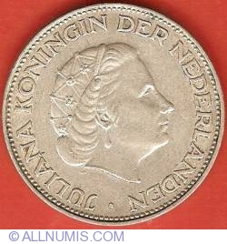 Image #1 of 2-1/2 Gulden 1962