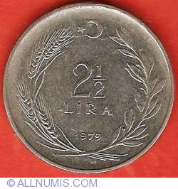 Image #2 of 2-1/2 Lira 1979
