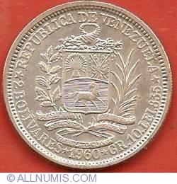 Imaginea #1 a 2 Bolivares 1960