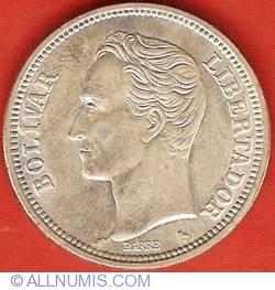 Imaginea #2 a 2 Bolivares 1960