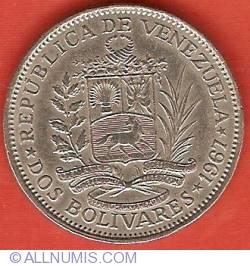 Imaginea #1 a 2 Bolivares 1967
