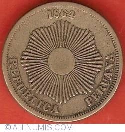 Image #1 of 2 Centavos 1864