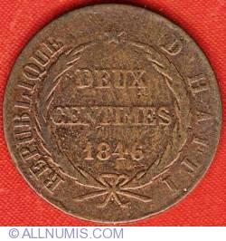 Imaginea #2 a 2 Centimes 1846 (AN43)