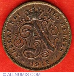 Image #1 of 2 Centimes 1912 French