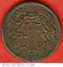 Image #1 of Two-cent Piece 1864 - large motto