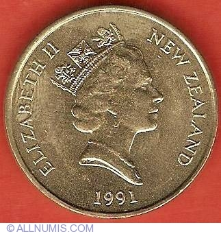 1991 $2 unc coin