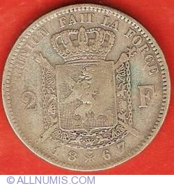 Image #2 of 2 Francs 1867