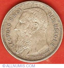 Image #1 of 2 Francs 1909 (French)