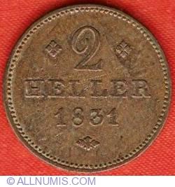 2 Heller 1831