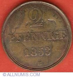 Image #2 of 2 Pfennige 1853