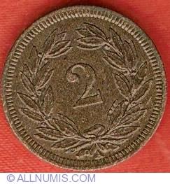 Image #2 of 2 Rappen 1850
